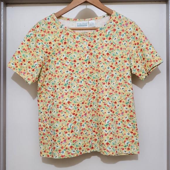 Van heusen for her t-shirt